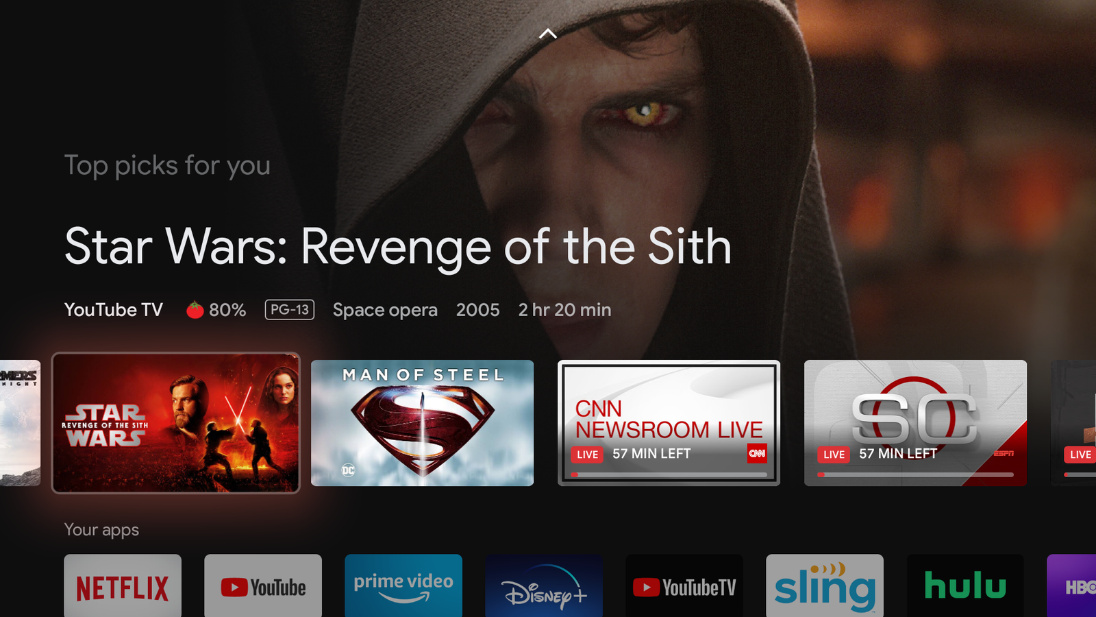 Check out a bunch of screenshots from Google TV's interface here.