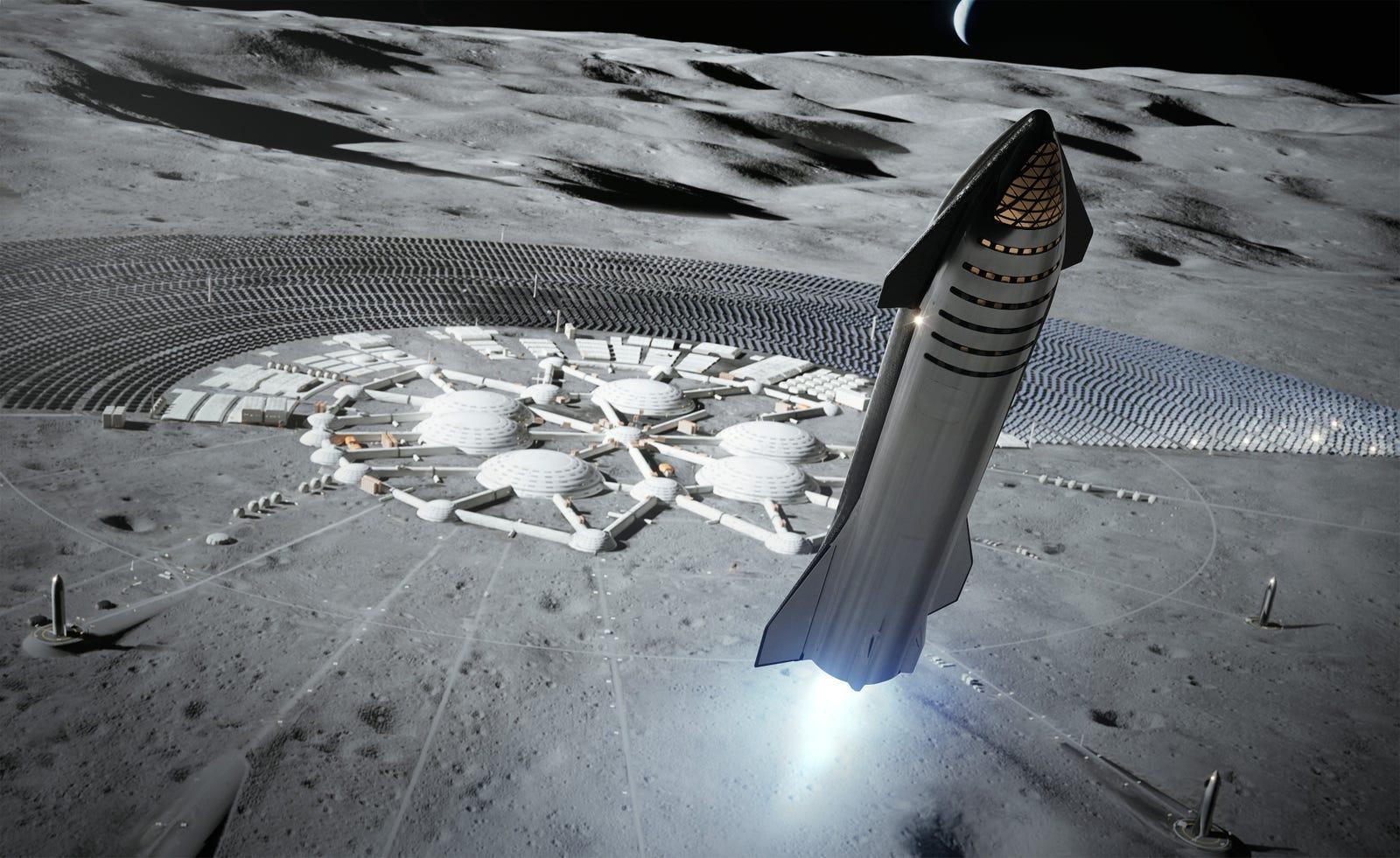 Una base científica en la Luna