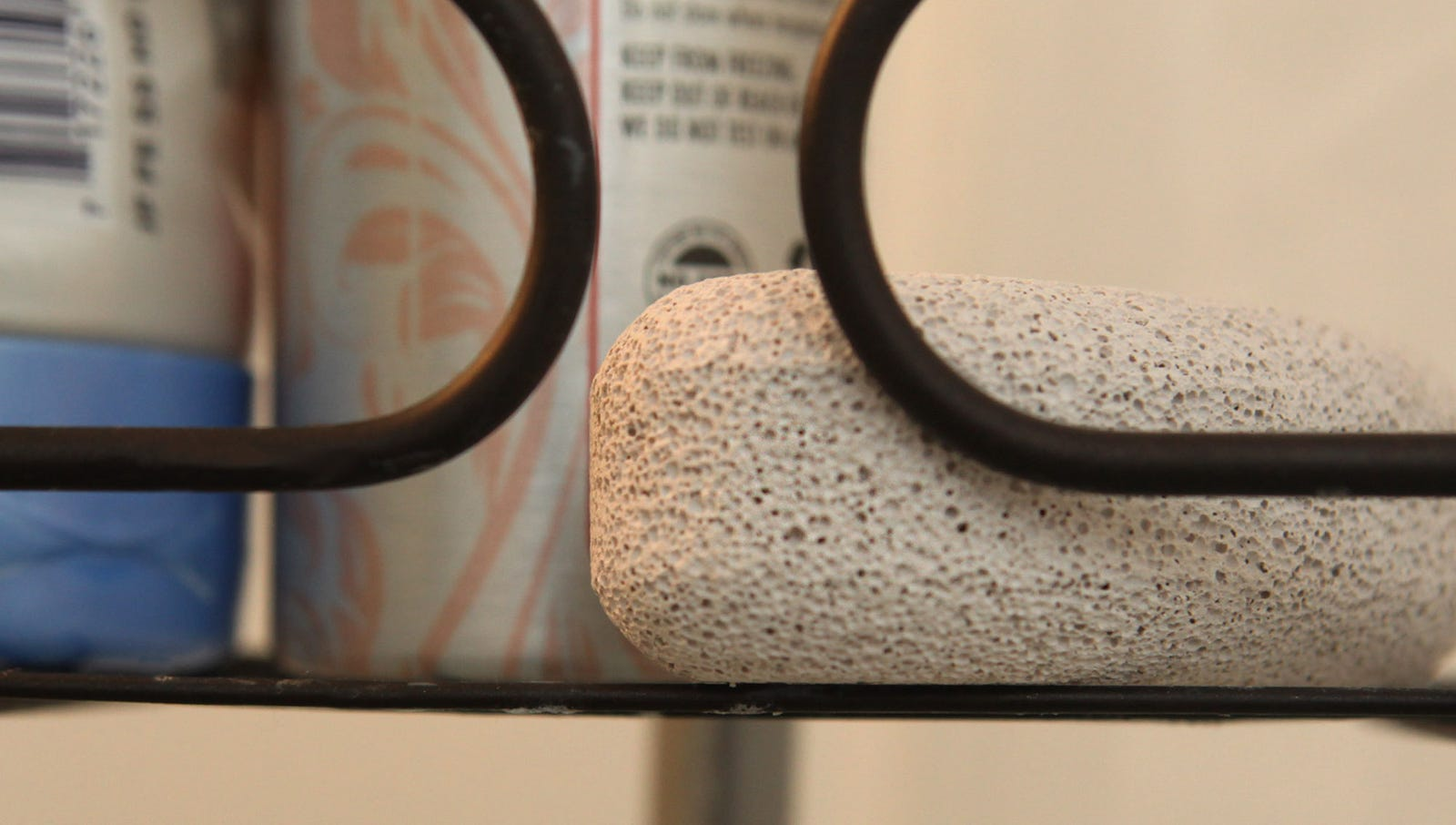 Rock Apparently Factors Into Girlfriend's Shower Routine
