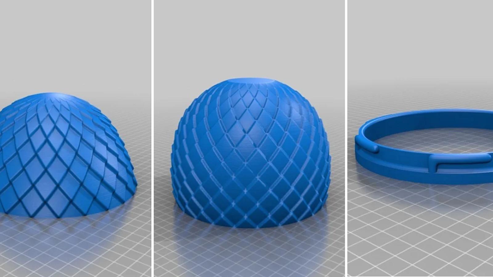 El modelo 3D de este huevo lo ha creado Lalala65765 y está disponible gratis en Thingiverse para cualquiera que quiera descargarlo.