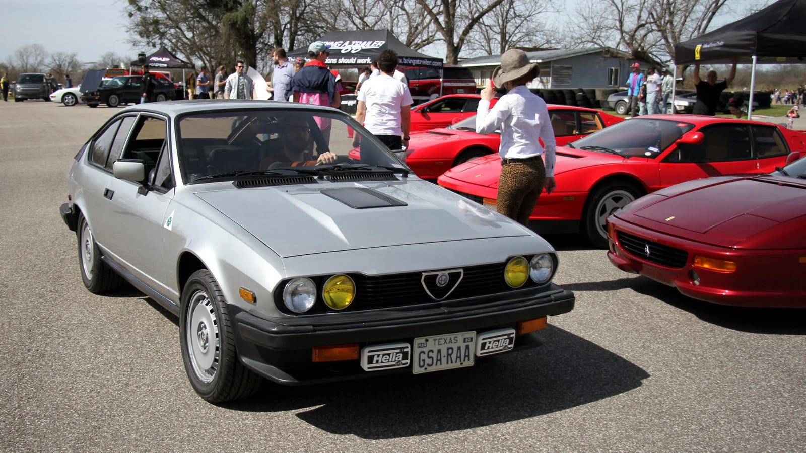 Illustration for article titled Anyone interested in buying an 82 Alfa GTV6?