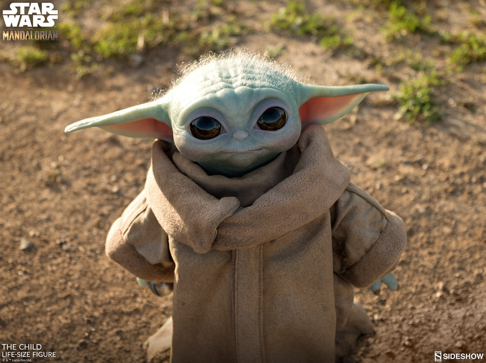 Illustration for article titled This Is the Most Accurate Baby Yoda Replica You Can Buy