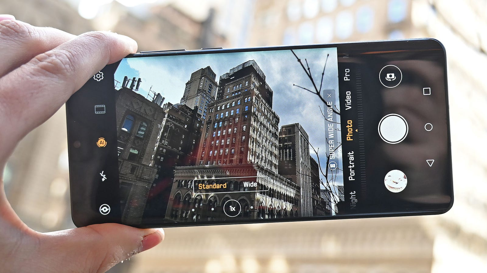Here's how the P30 Pro's camera looks at 1x zoom.