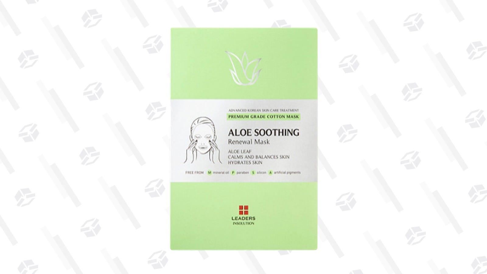 Leaders Aloe Soothing Renewal Mask | $5 | Ulta