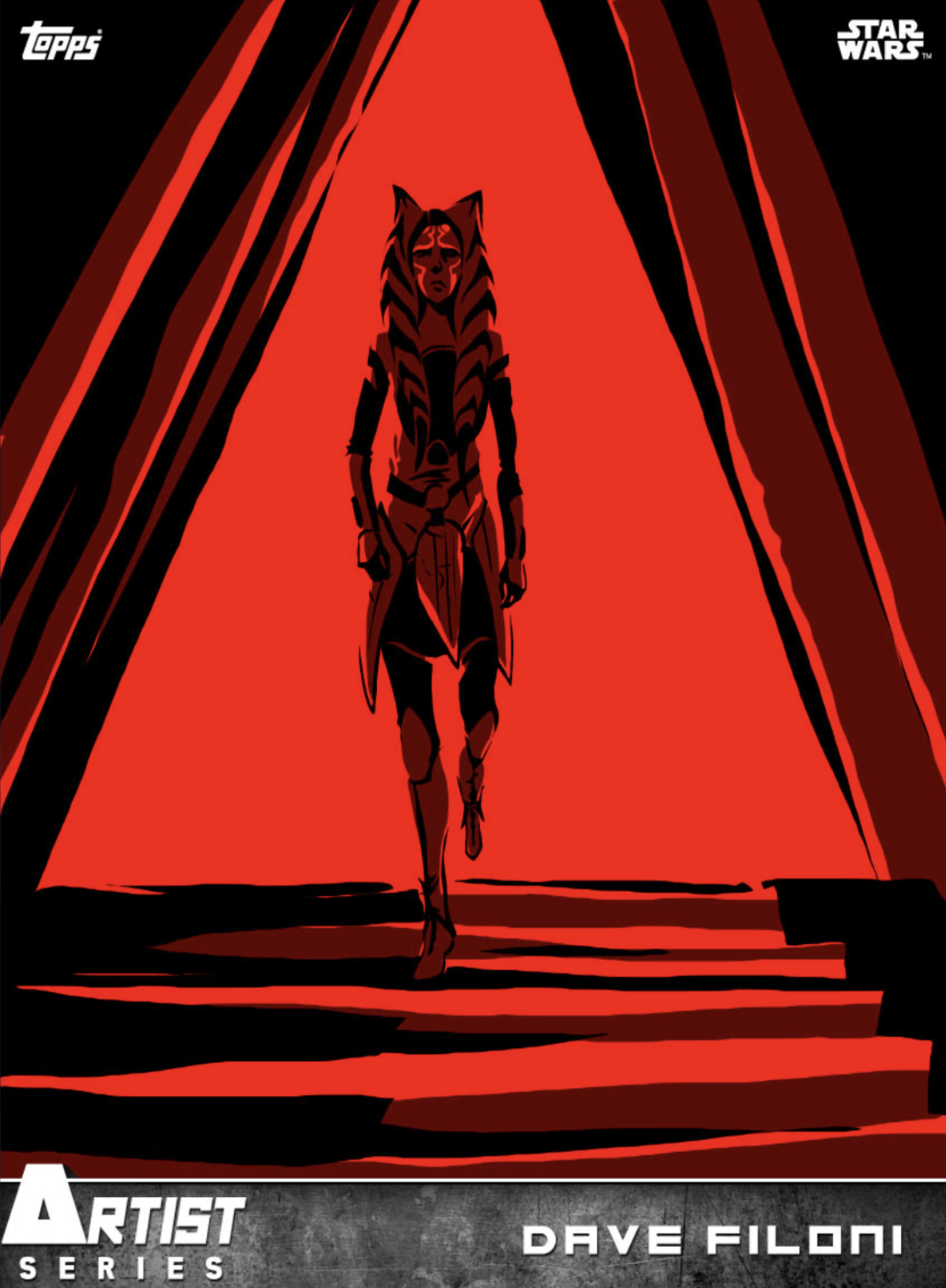 Just some of the cards exploring what happened to Ahsoka after first leaving the World Between Worlds.