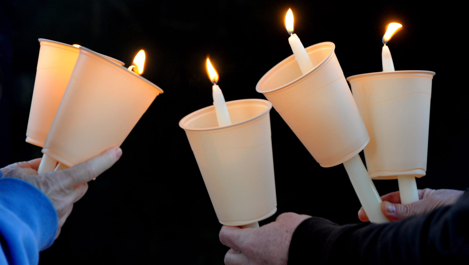 College Administrators Hold Candlelight Vigil To Honor Donor Lost In Mishandled Rape Case