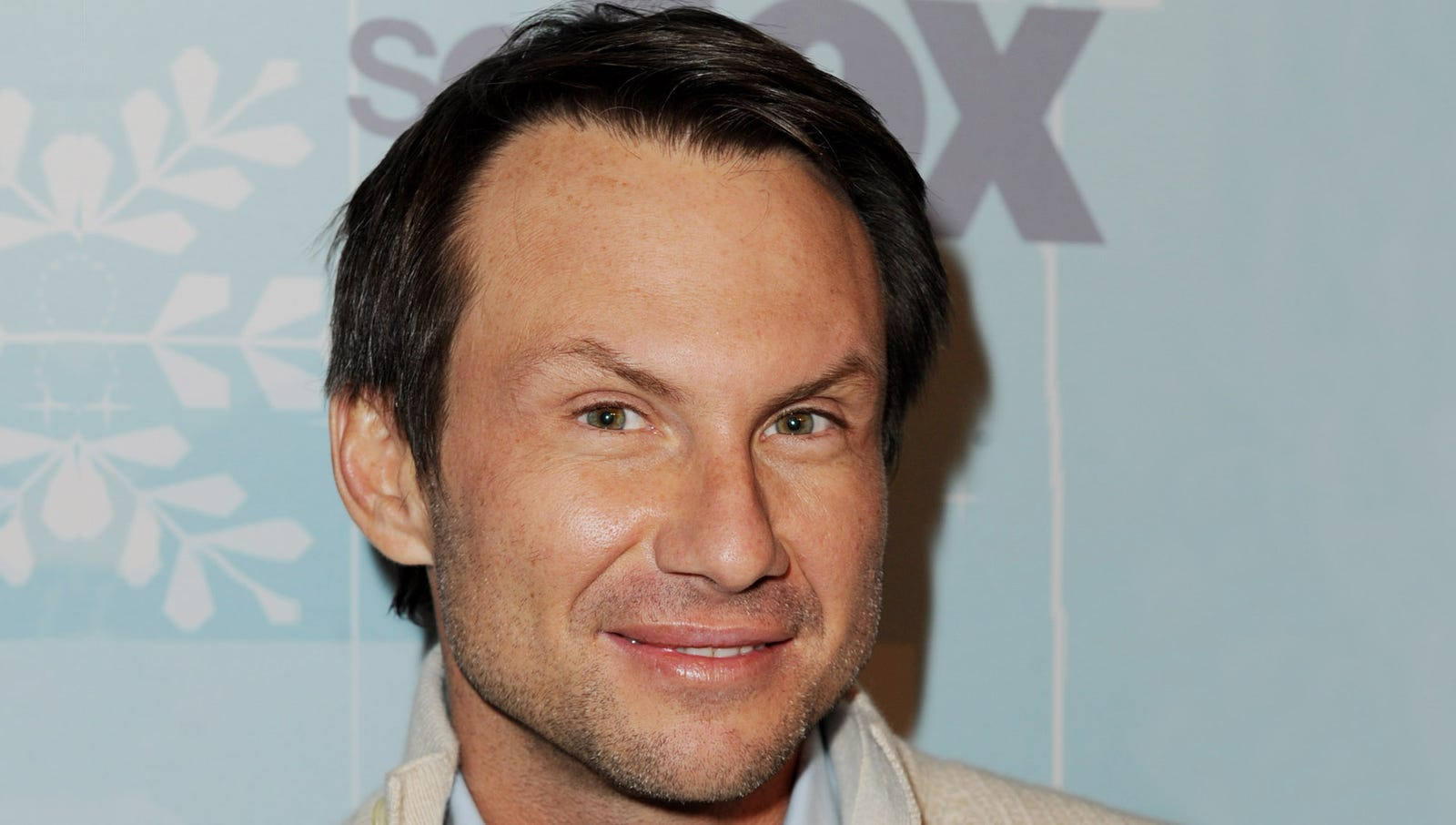 """Christian Slater: """"Create your own pie crust by crushing graham crackers into a zipper bag, then running a rolling pin over it."""""""