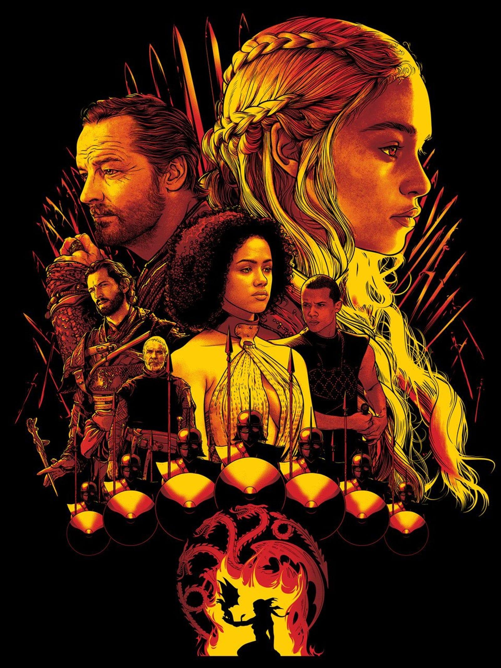 "Joshua Budich - ""House Targaryen"""