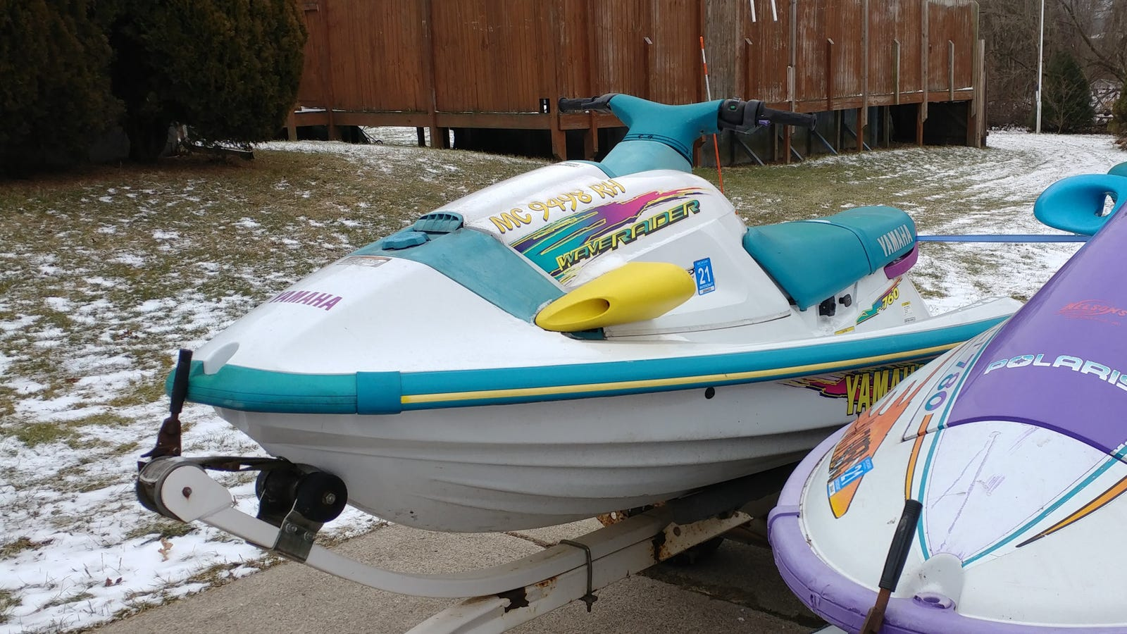 This, is Pack. A 1996 Yamaha WaveRaider 760