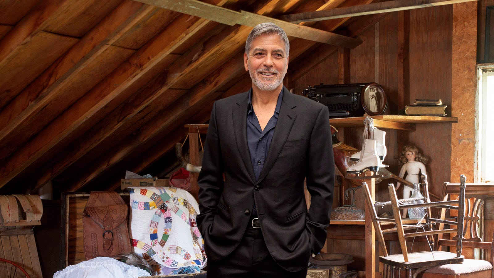 Real Estate Experts Confirm Having George Clooney Living In Attic Greatly Increases Property Value Wq8ikzjmxrt3euetjwbh