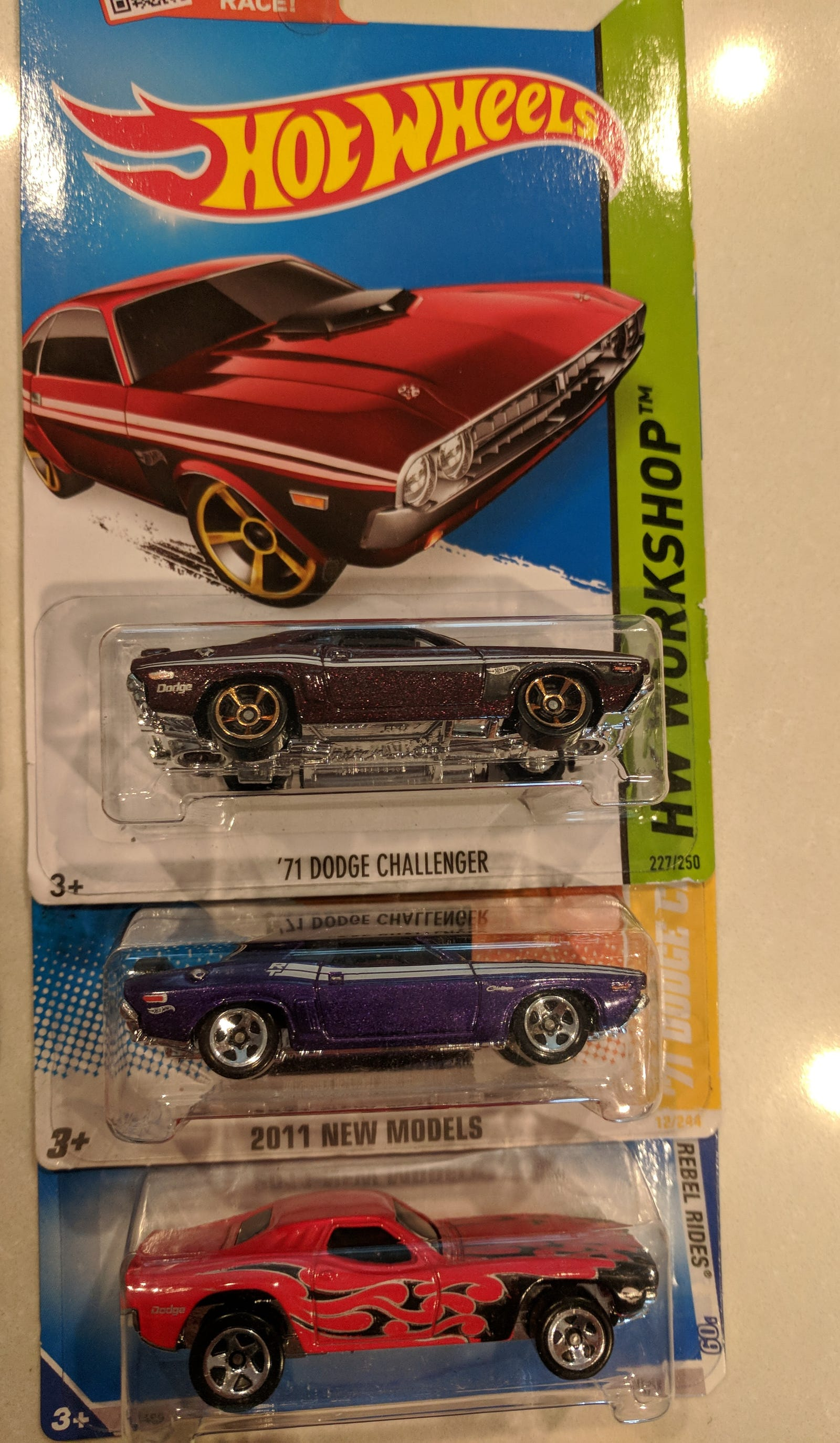 Lot 15: Classic Mopar - $20 for 23 cars including 2 '71 Challengers, Dixie Challenger...