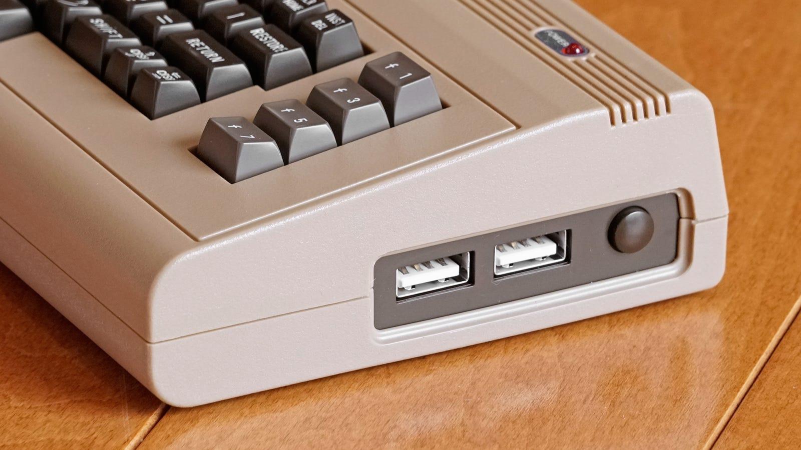 Yep, those are modern USB ports.