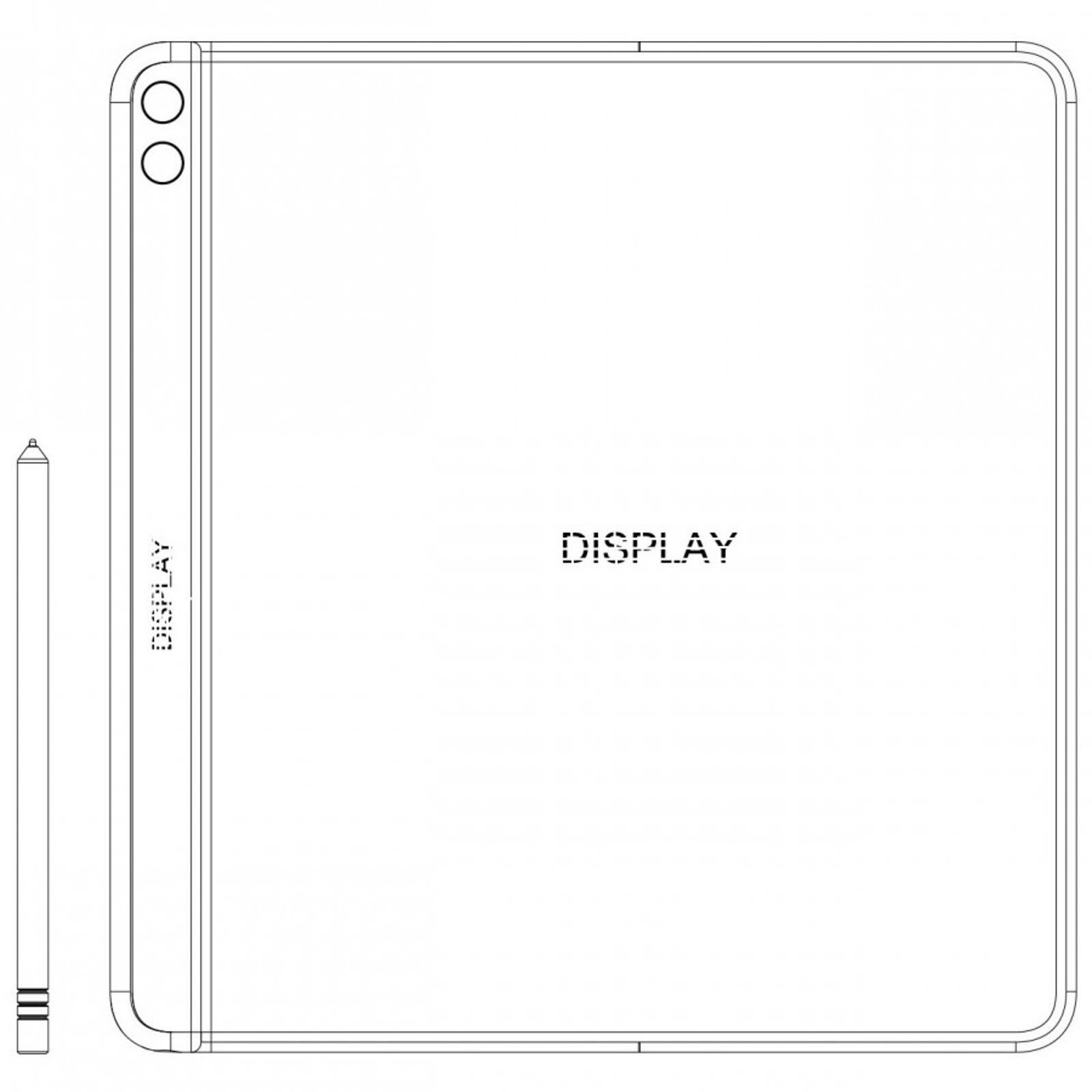 Illustration for article titled El nuevo teléfono plegable de Huawei se doblaría hacia dentro, siguiendo los pasos del Galaxy Fold