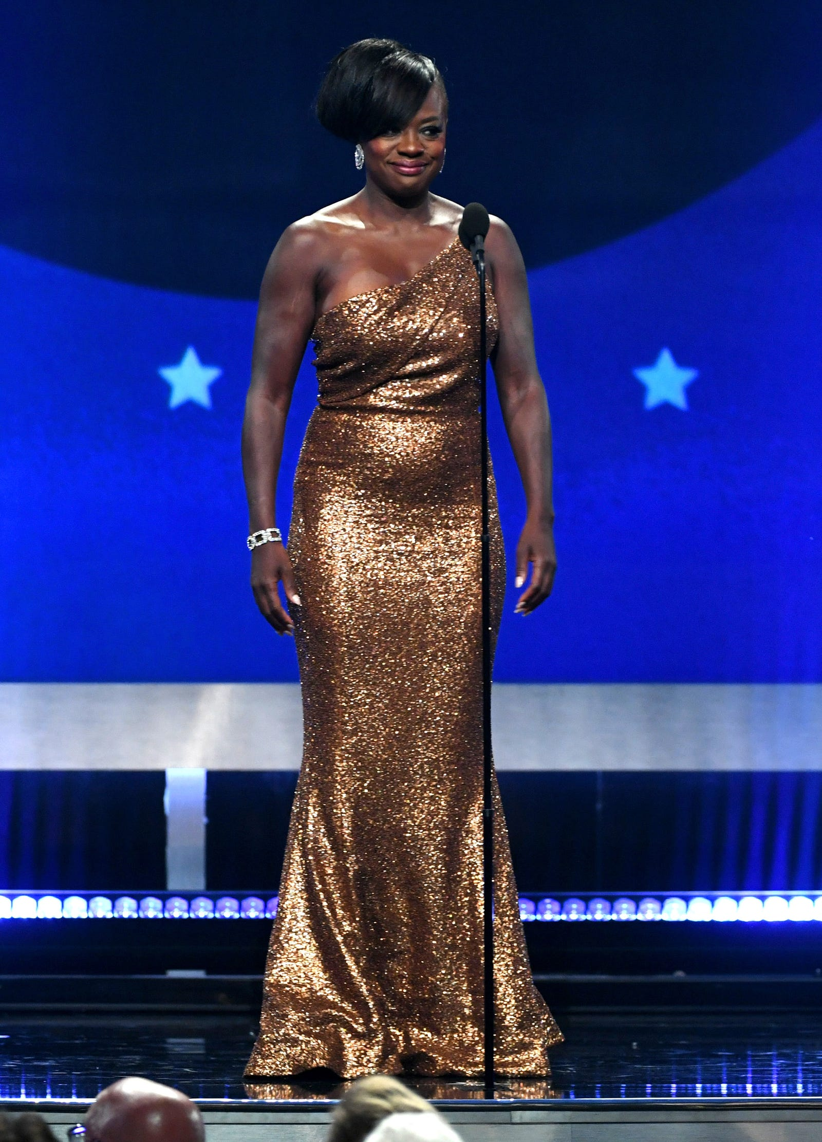 Viola Davis in Michael Kors.