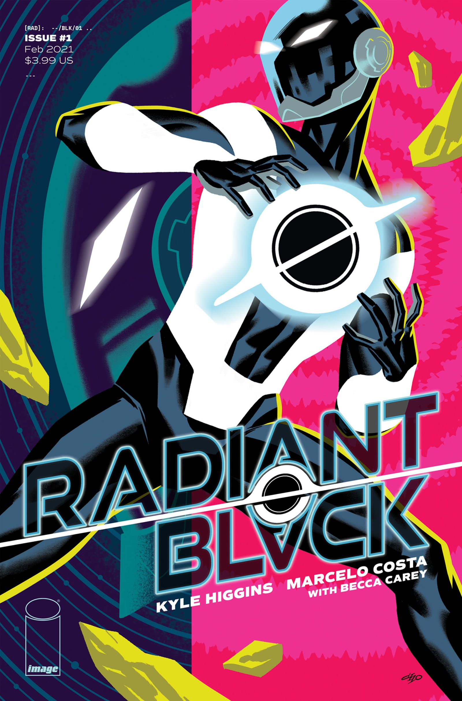 Illustration for article titled The Team Behind iRadiant Black/i Talk Bringing iPower Rangers/i Vibes to Older Heroes