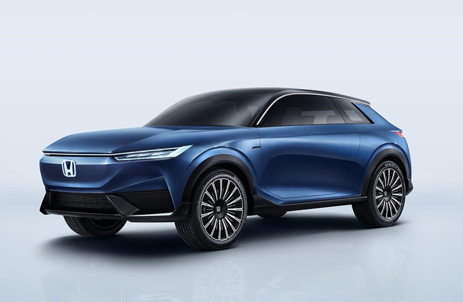 Illustration for article titled Honda presenta su primer y elegante prototipo de SUV eléctrico
