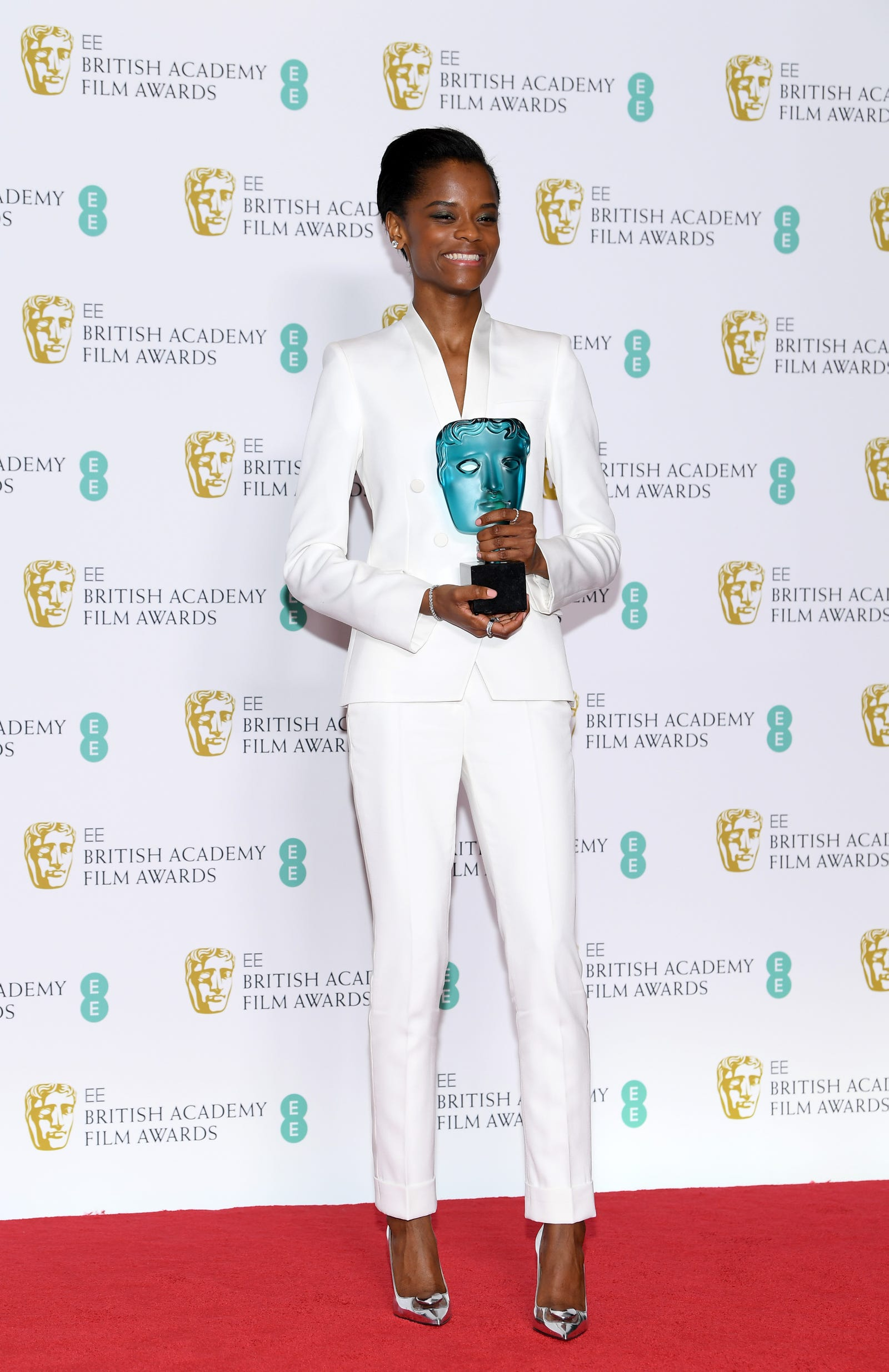 Letitia Wright in Stella McCartney.