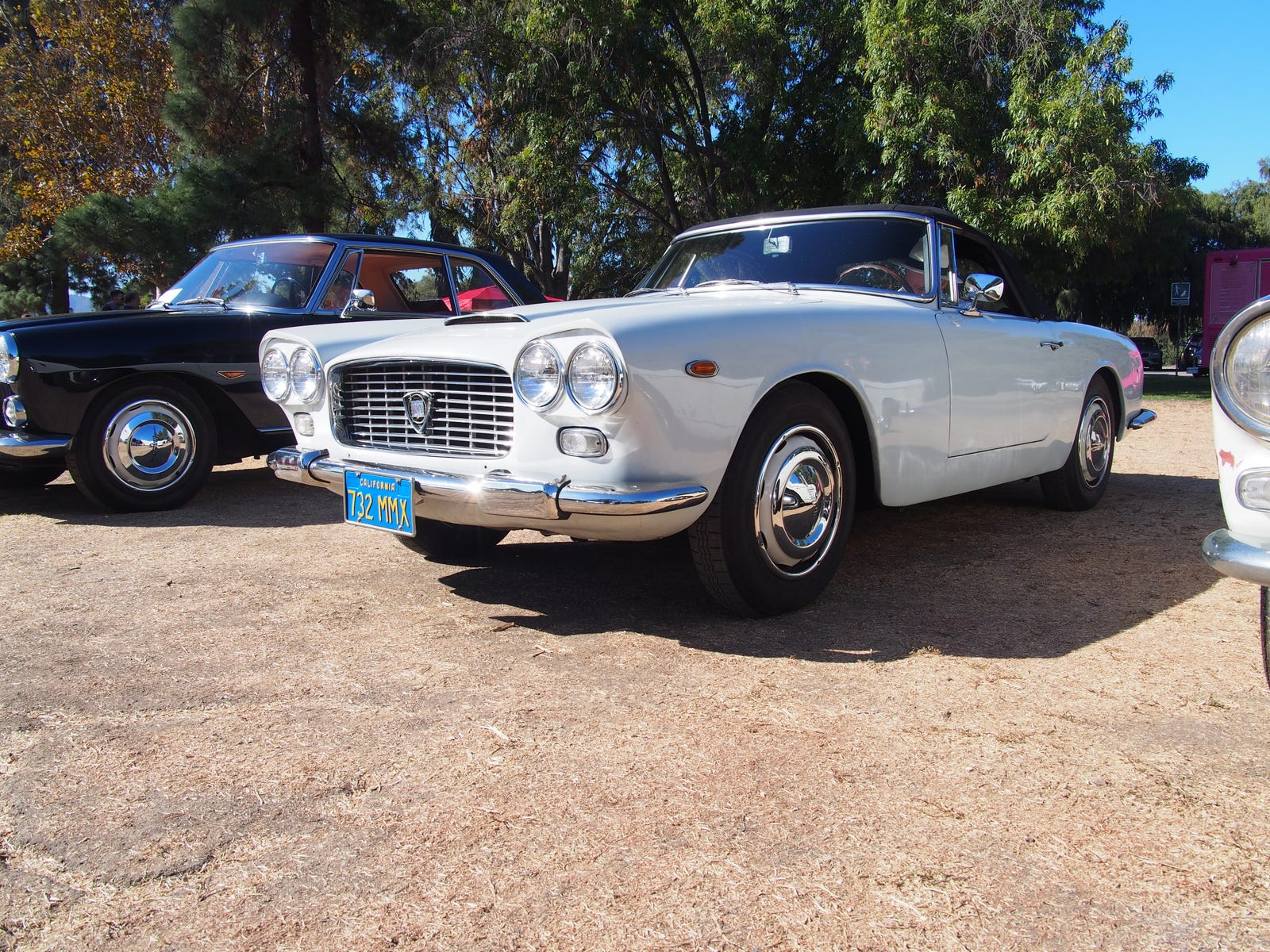 The Lancia Flaminia GT Convertible and its amazing taillights.