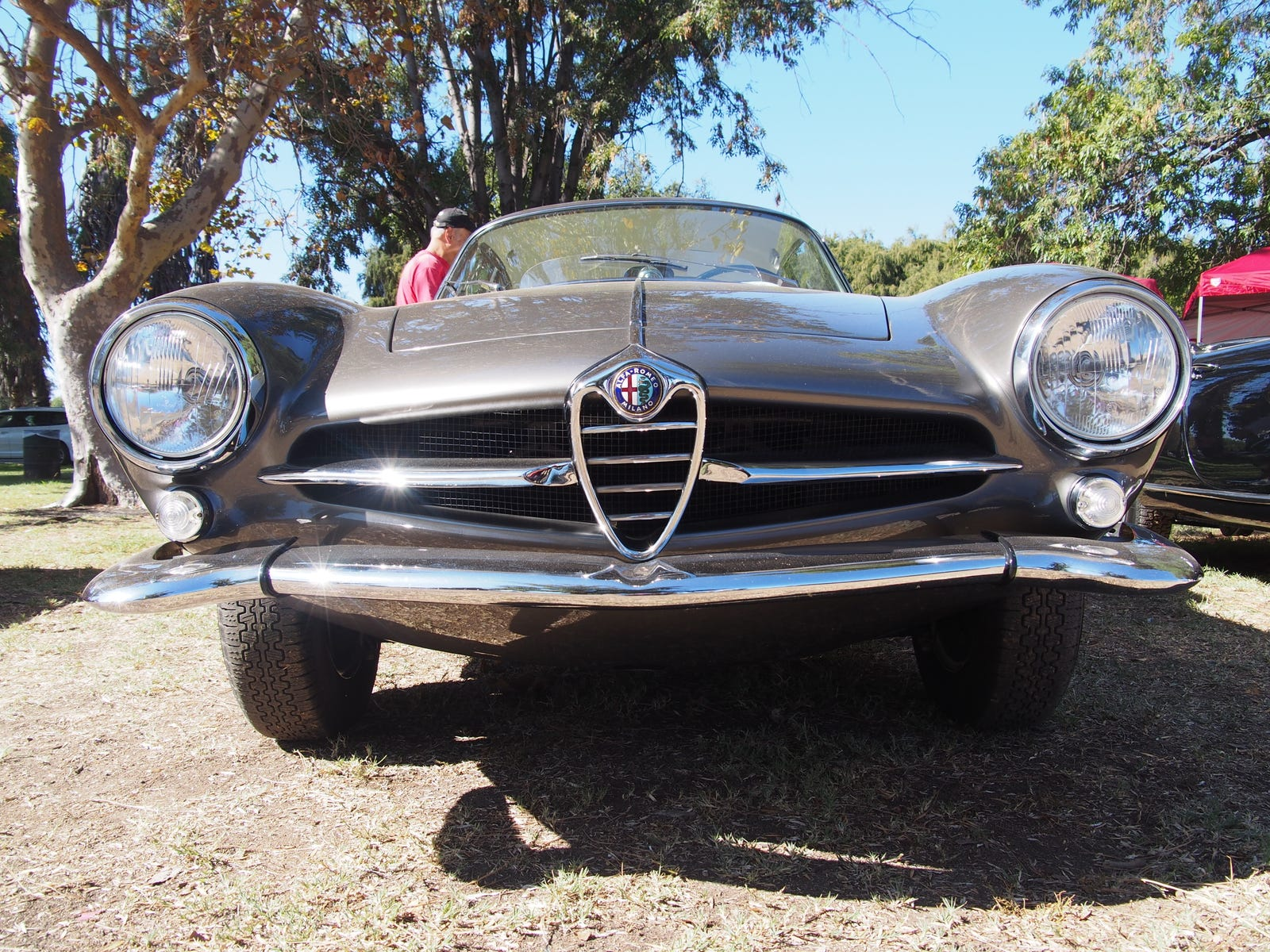 And the Giulia SS is the sexist Alfa.