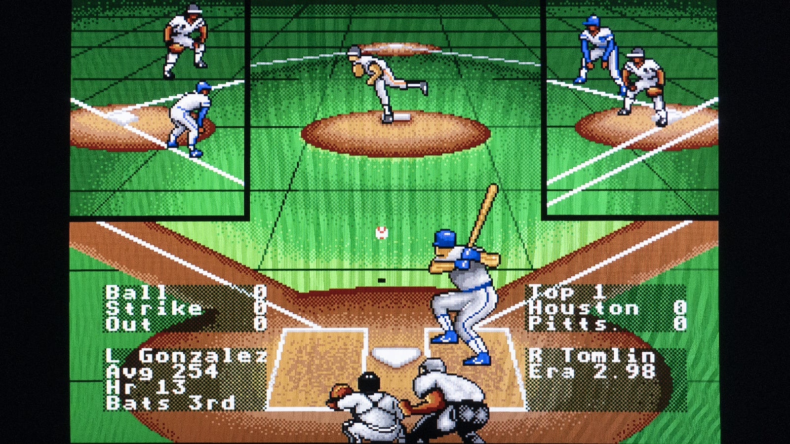 In my later years, I've become obsessed with 16-bit baseball games, and the Mega Sg delivered the best RBI Baseball 4 experiences I've ever had.