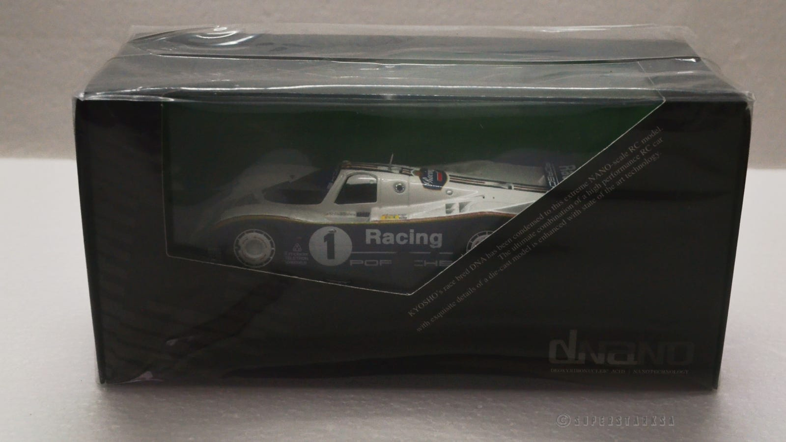Porsche 962 C LH #1 Winner 24h LeMans 1986 Bell / Stuck / Holbert 1:43 Kyosho