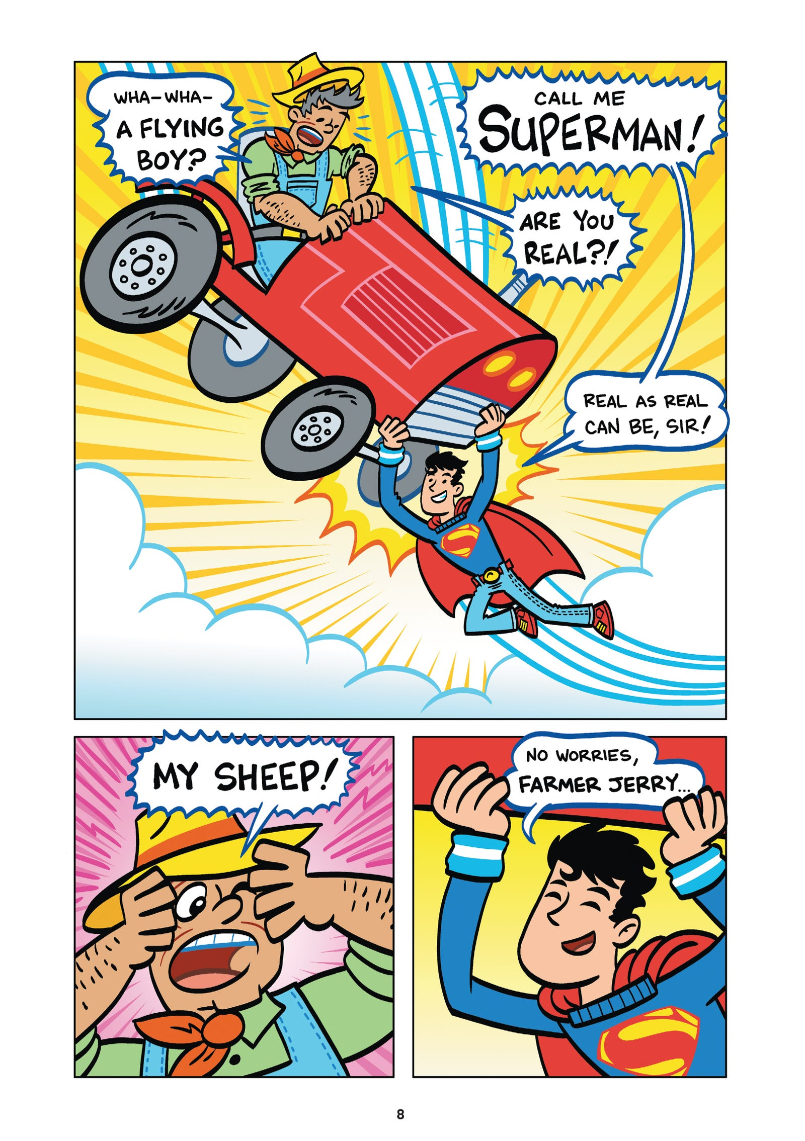 Art from Superman Of Smallville