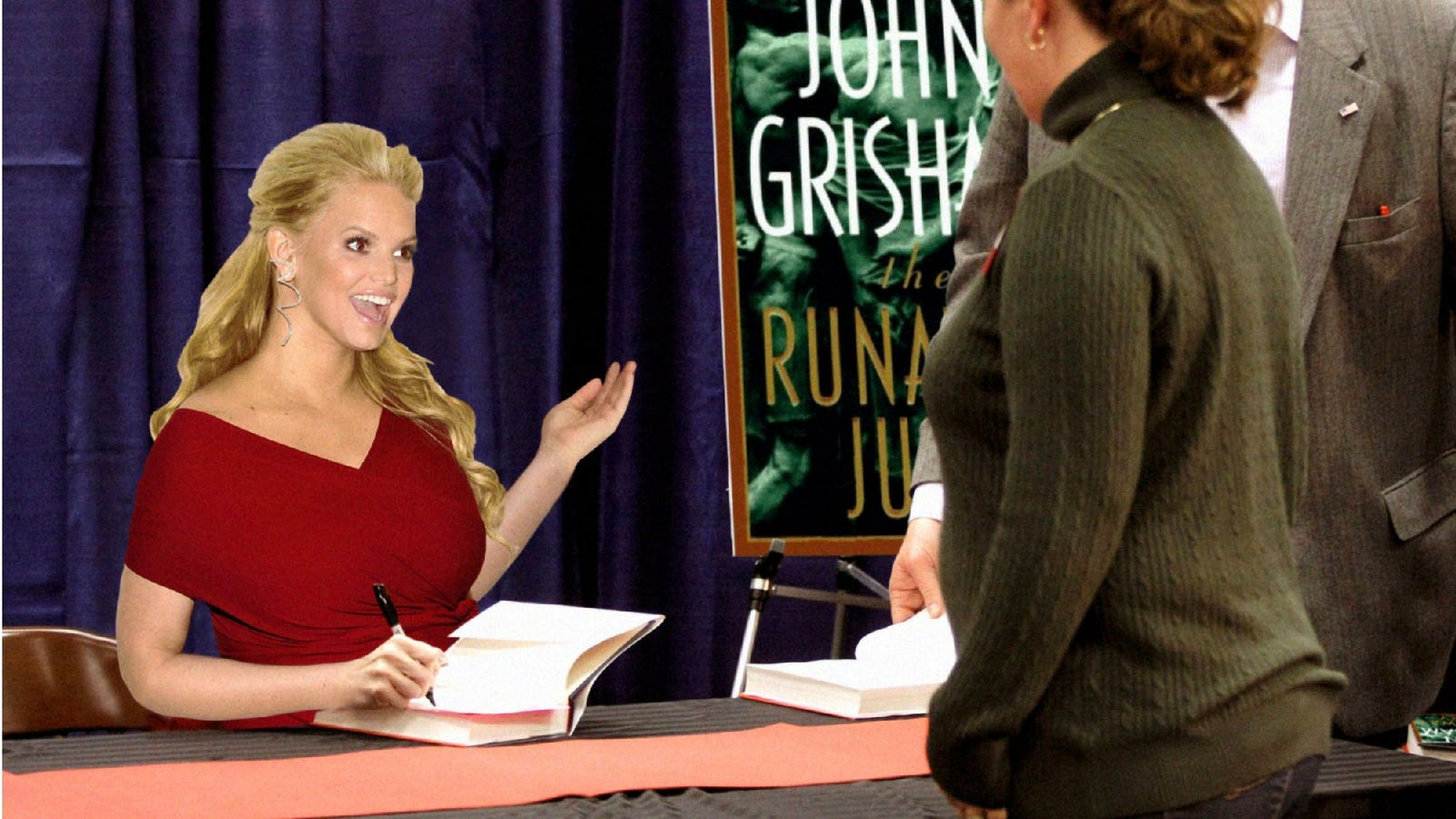 Jessica Simpson Goes On Tour To Promote The Novel She Read