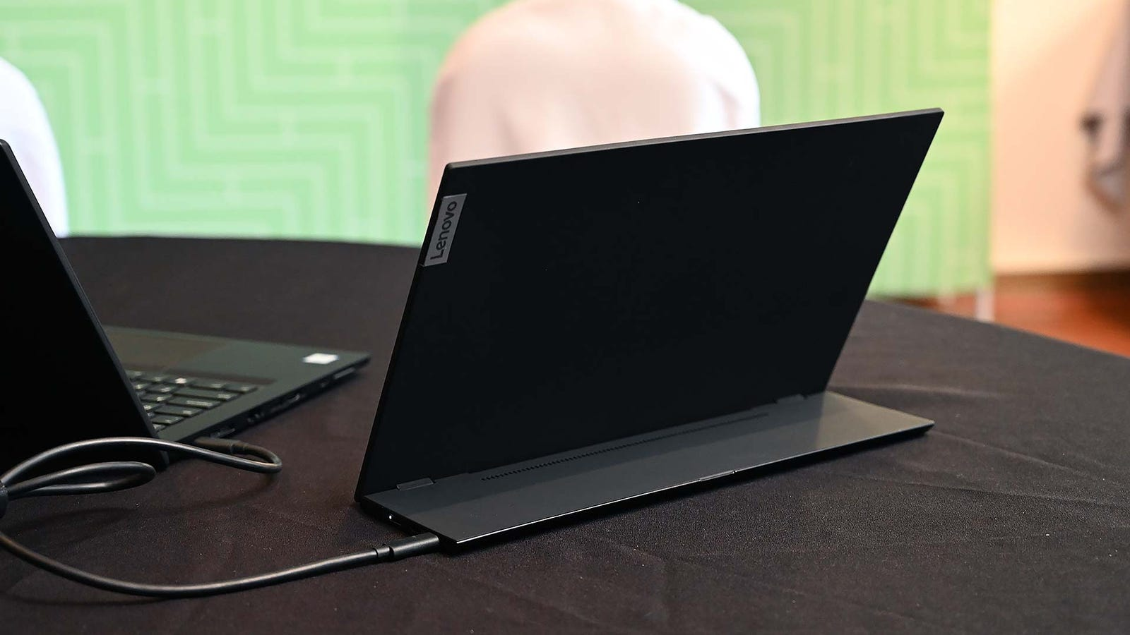 The ThinkVision M14 is a relatively straightforward accessory, which is all it needs to be.