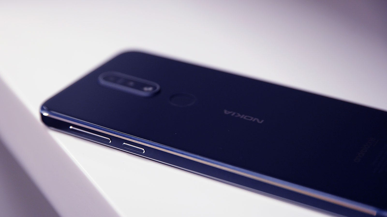 The 7.1's chamfered edges are a nice touch you rarely see on phones this cheap.
