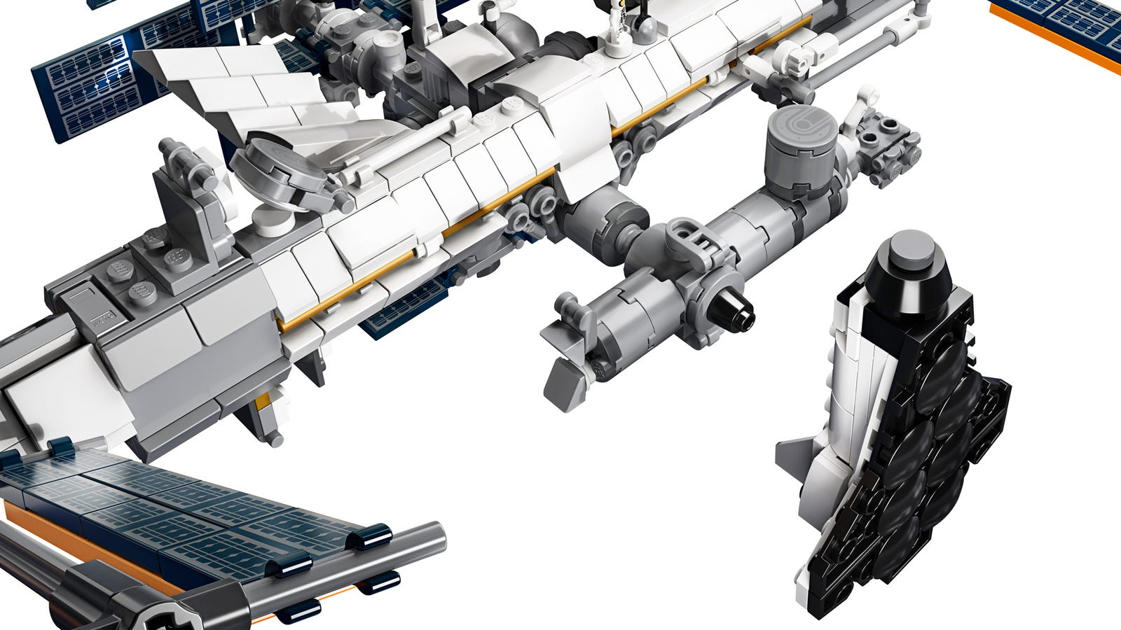 Illustration for article titled Legos International Space Station Looks Like an Incredibly Detailed But Impossibly Fragile Build