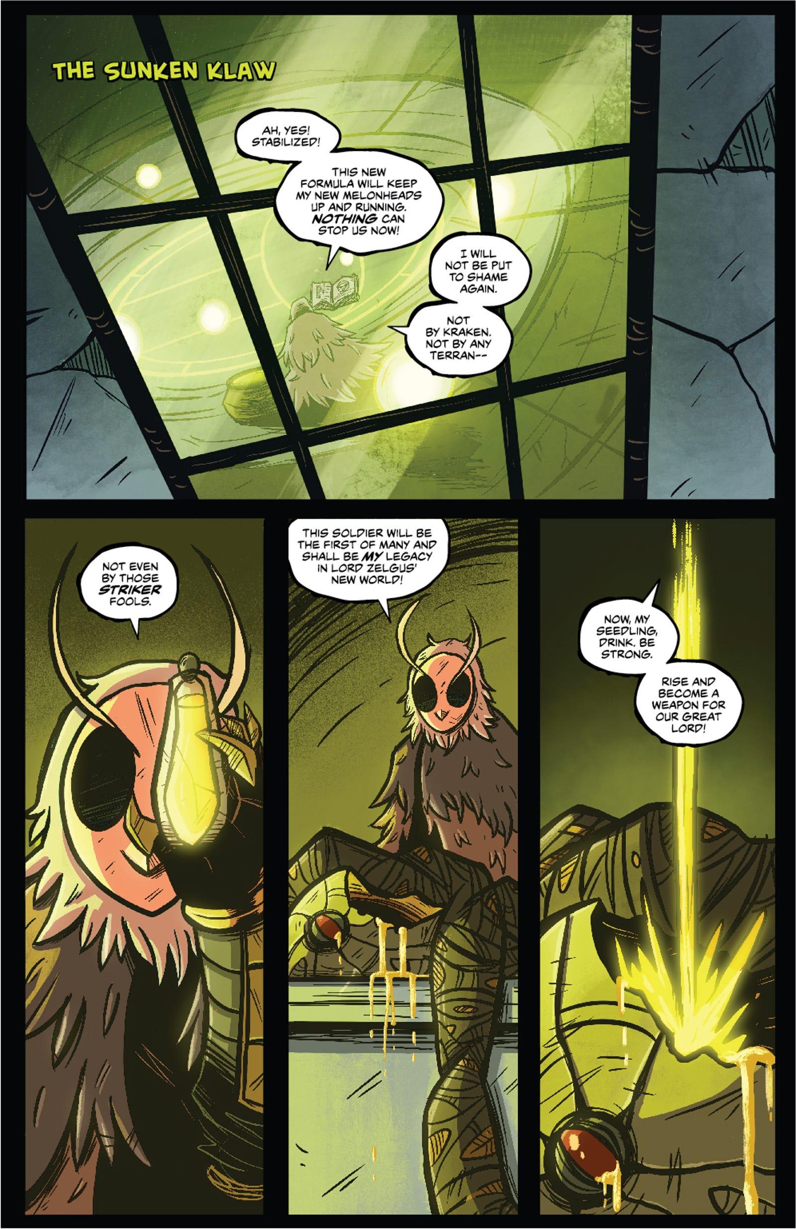 Get a look inside Beast Heart Strikers #2!