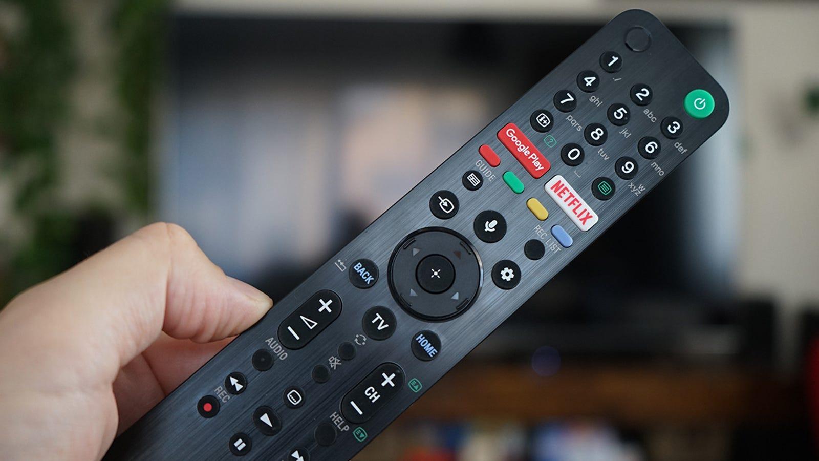 El mando tiene botones dedicados para Google Play y Netflix.