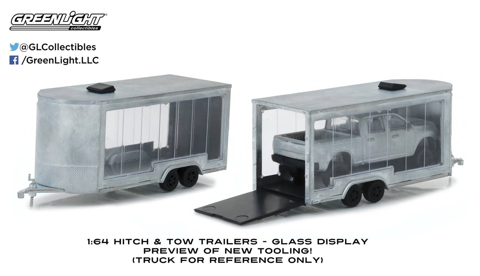Glass Display Trailer Tooling Preview