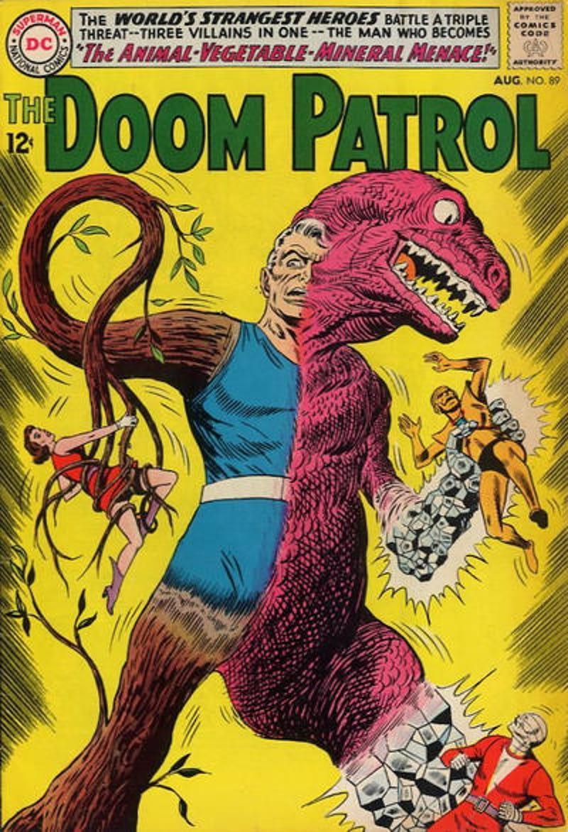 The World S Strangest Heroes Doom Patrol