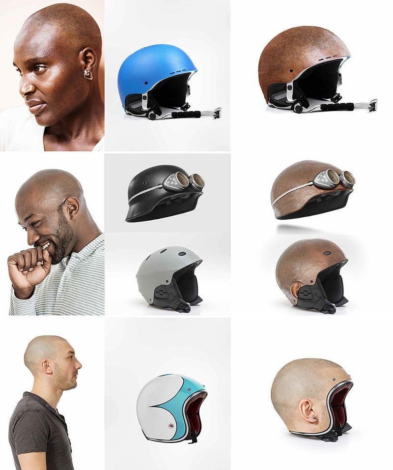 Este es el diseño de casco más ingeniosamente realista que verás