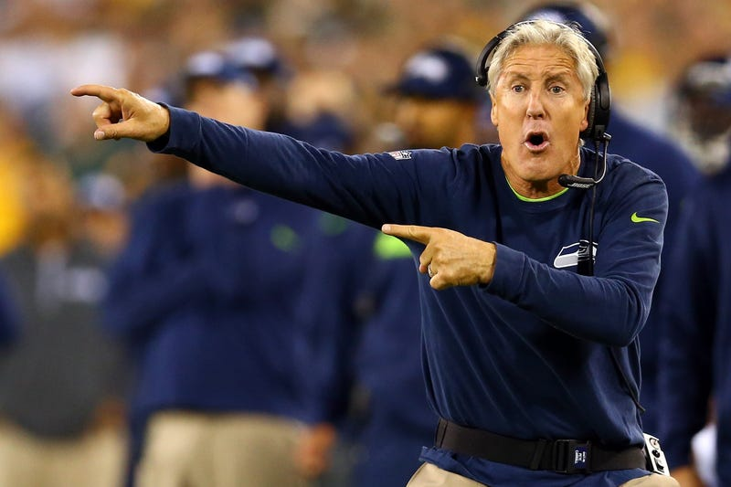 Pete Carroll Says The Refs Blew That Big Fumble Call