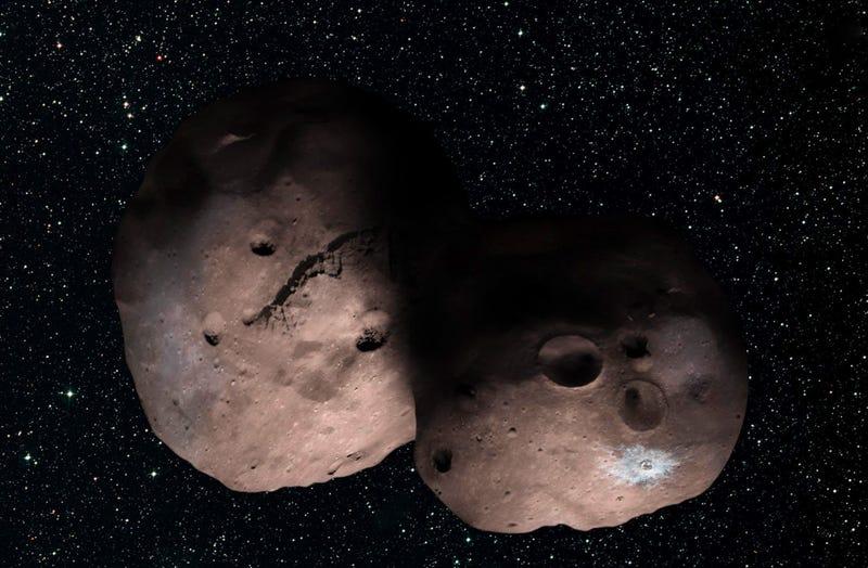 Hallan dos asteroides rojizos en órbita entre Marte y Júpiter