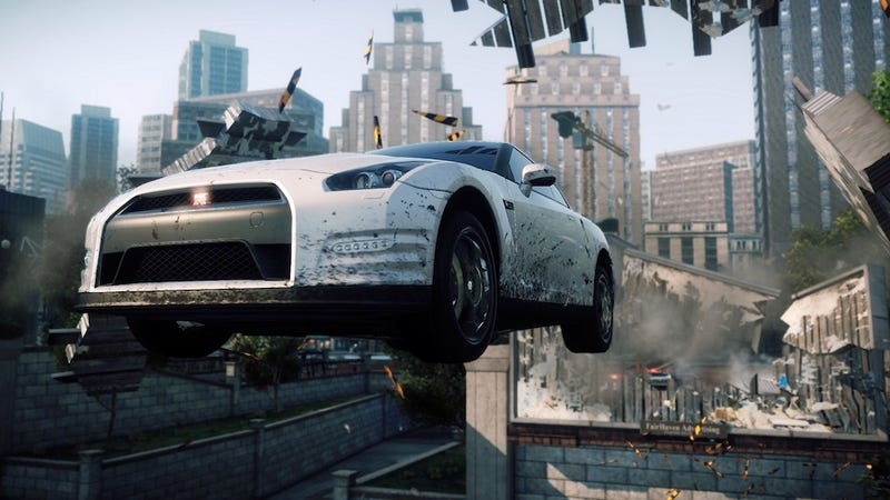 Need For Speed Most Wanted Is Basically Burnout Paradise 2