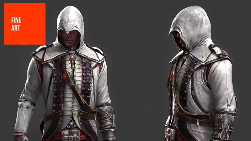 This Is What Assassin S Creed Iii S Connor Used To Look Like