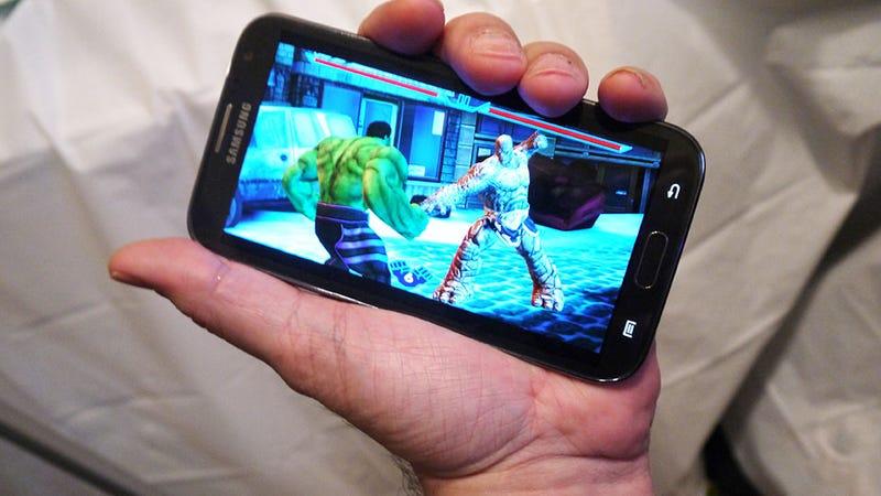 再见了iPhone,三星Galaxy Note II是我的新游戏手机