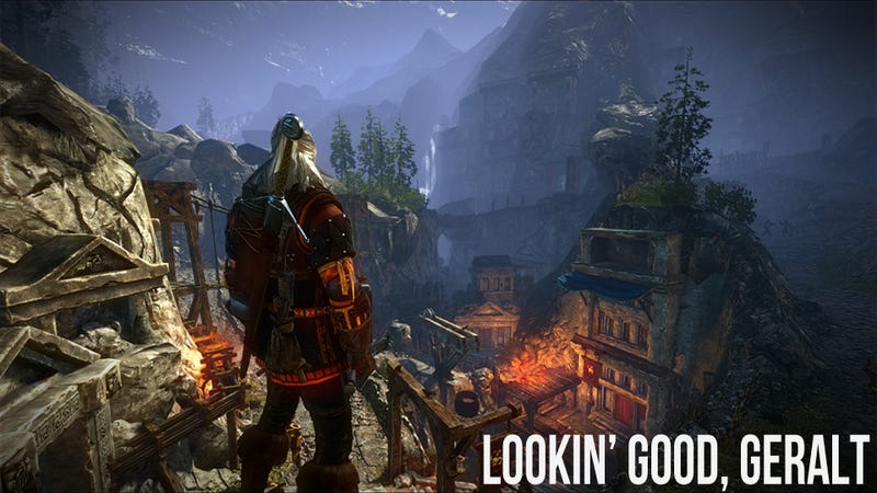The Witcher 2 On Xbox 360 Is Thankfully Still Very Much The Witcher 2