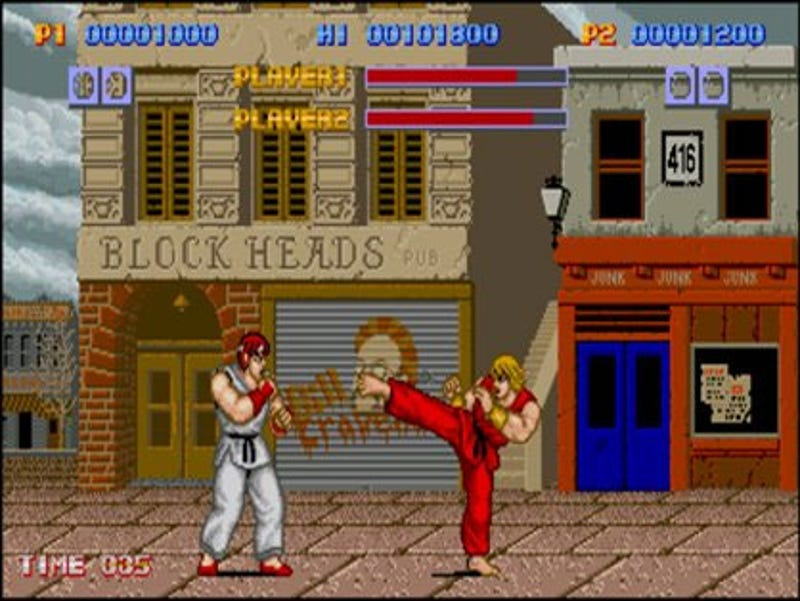 Let S Talk About The Very First Street Fighter