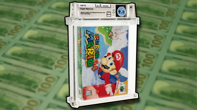 A Copy Super Mario 64 Was Just Sold For Over A Million Dollars