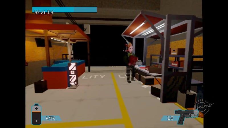 在梦中制造,这就是赛博朋克2077如果在PS1上发布的样子