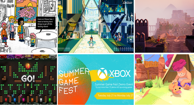 Xbox Summer Event允许您播放70多个未发布游戏的演示