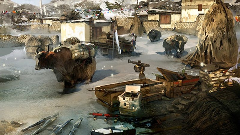 What A Yak Farm Mission Says About Gaming In 2014