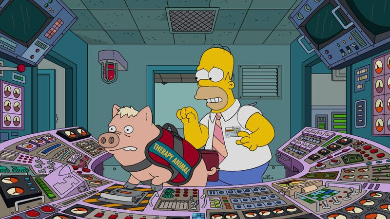 Homer Remembers He Owns A Pig As The Simpsons Squanders Some Good Ideas