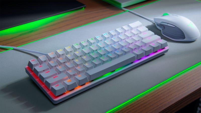 雷泽亨茨曼迷你是一个优秀的介绍百分之六十的键盘