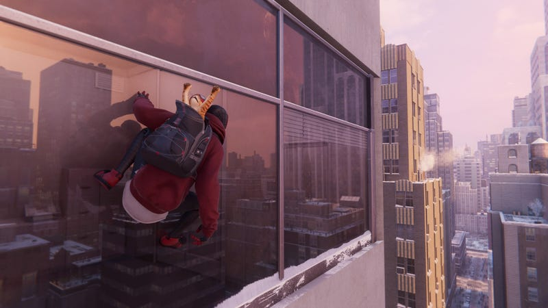 """失眠症患者给蜘蛛侠增加了一种新的""""表演RT""""视觉模式:迈尔斯·莫拉莱斯。新设置允许以60FPS的速度进行光线跟踪,折衷的办法是调整场景分辨率"""