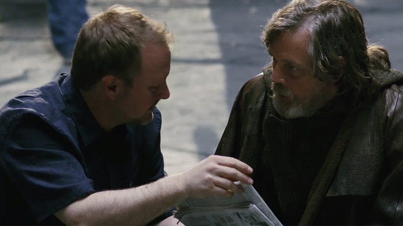 Rian Johnson on the Intensity of Working With Mark Hamill on The Last Jedi
